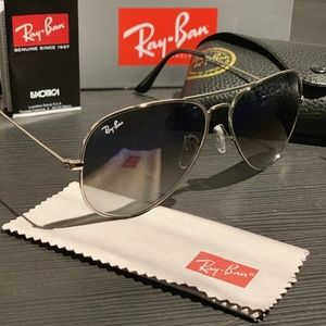 Ray-Ban Accessories - Ray Ban Aviator Blue Gradient RB3025 Classic